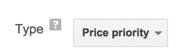 Price Priority
