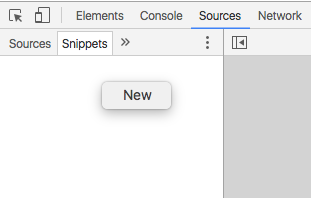 Add New Snippet in Dev Tools