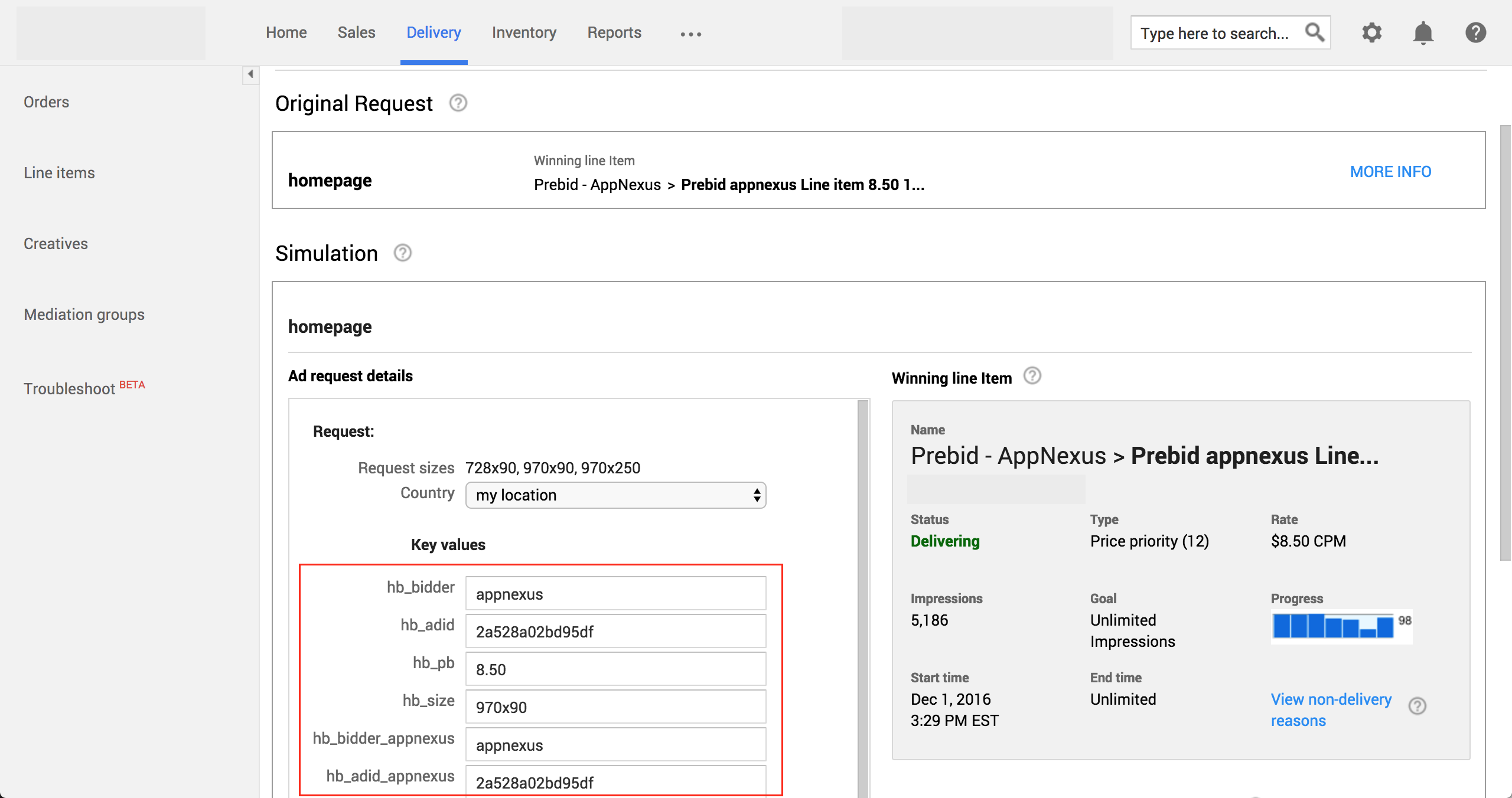 Google Ad Manager Delivery Troubleshooting